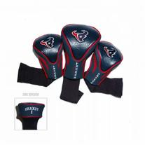 NFL Houston Texans 3 Pack Contour Fit Headcover