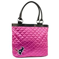 NFL Houston Texans Pink Quilted Tote