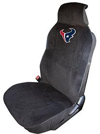 NFL Houston Texans Seat Cover, Black, One Size