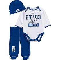 NFL Indianapolis Colts Girls Long Sleeve Bodysuit, Footed