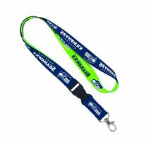NFL Seattle Seahawks Lanyard with Detachable Buckle