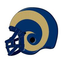 NFL St. Louis Rams Helmet Pillow