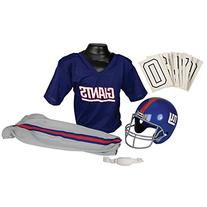 Franklin Sports NFL New York Giants Deluxe Youth Uniform Set