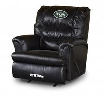 Officially Licensed NFL Furniture: Big Daddy Leather Rocker