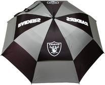 NFL Oakland Raiders 62-Inch Double Canopy Umbrella
