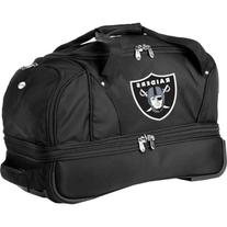 Denco Sports Luggage NFL Oakland Raiders 22in. Rolling