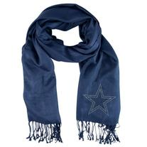 NFL Pashmina Fan Scarf, Dallas Cowboys