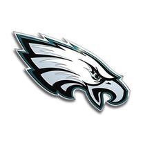 NFL Philadelphia Eagles Die Cut Color Automobile Emblem