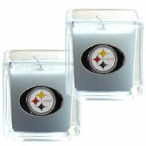 NFL Pittsburgh Steelers Candle Set