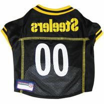 Pets First NFL Pittsburgh Steelers Jersey, XL