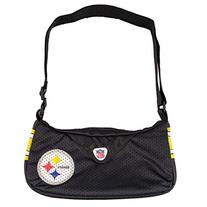 NFL Pittsburgh Steelers Jersey Team Purse, 12 x 3 x 7-Inch,