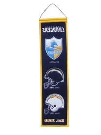 NFL San Diego Chargers Heritage Banner
