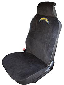 NFL San Diego Chargers Seat Cover, One Size, Black
