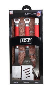 NFL San Francisco 49ers Grill Tools Set