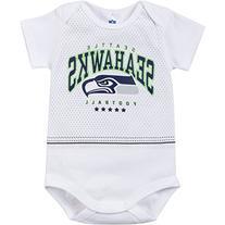 NFL Seattle Seahawks Team Bodysuit, 0-3 Months, White