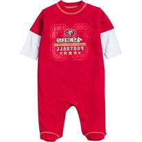 NFL San Francisco 49ers Sleep 'N Play Bodysuit, 6-9 Months,