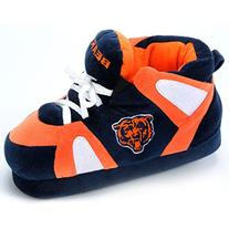 Comfy Feet NFL Sneaker Boot Slippers - Chicago Bears