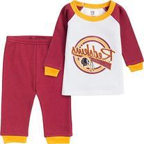NFL Washington Redskins Thermal Pajama Set, 3T, Red