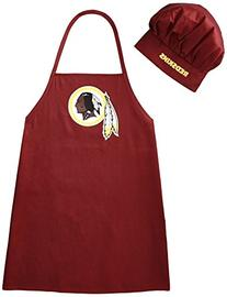 NFL Washington Redskins Chef Hat and Apron Set
