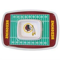 Siskiyou Sports Washington Redskins Chip And Dip Tray Chip