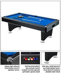 Carmelli NG2520PB Hustler 8' Pool Table with Slate Graded