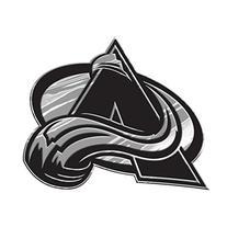 NHL Colorado Avalanche Chrome Emblem, One Size, One Color