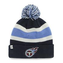NHL Tennessee titans '47 Brand Breakaway Cuff Knit Hat with