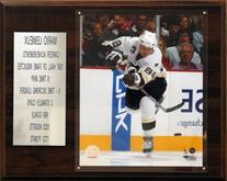 NHL Mario Lemieux Pittsburgh Penguins Career Stat Plaque