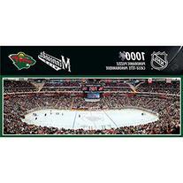 NHL Minnesota Wild Arena Puzzle , Small, Gray