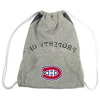 NHL Montreal Canadiens Hoodie Cinch Backpack, 14 x 17-Inch,