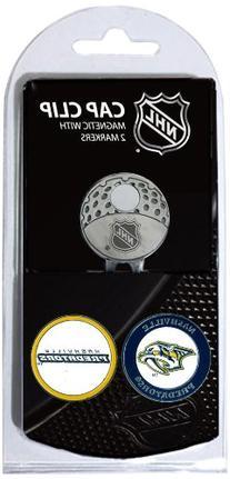 NHL Nashville Predators 2 Marker Cap Clip