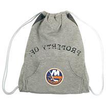 NHL New York Islanders Hoodie Cinch Backpack, 14 x 17-Inch,