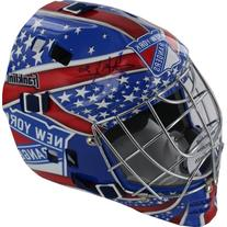 NHL New York Rangers Henrik Lundqvist Autographed Helmet