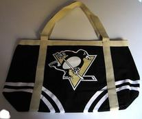 NHL Pittsburgh Penguins Canvas Tailgate Tote