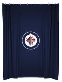 NHL Winnipeg Jets Shower Curtain, 72 x 72, Midnight