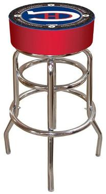 Nhl Throwback Montreal Canadiens Padded Bar Stool