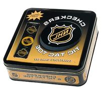 NHL Tic-Tac-Toe and Checkers Combo Tin