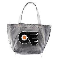 NHL Vintage Tote Bag, Philadelphia Flyers, Black