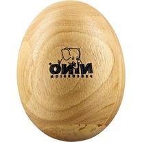 Nino Percussion NINO564 Large Wood Egg Shaker, Natural