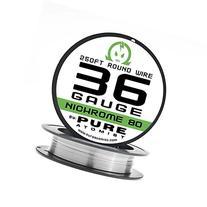 36g - PURE ATOMIST 36 Gauge Nichrome 80 Wire 250' Roll - 36