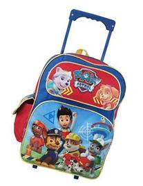 "Nickelodeon Paw Patrol Large 16"" Rolling Backpack"