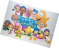 Nickelodeon Bubble Guppies Toy Figure Set of 13 with Bubble