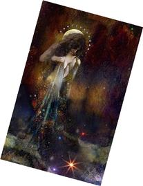 Night and Her Train of Stars - 8x10 Signed and Matted