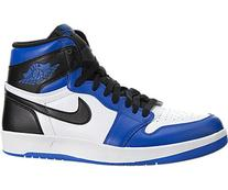 Nike Jordan Mens Air Jordan 1 High The Return White/Black/