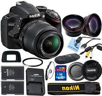 Nikon D3200 24.2 MP CMOS Digital SLR with 18-55mm f/3.5-5.6