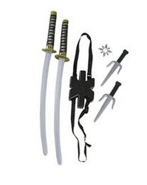 Ninja Double Sword Toy Weapon