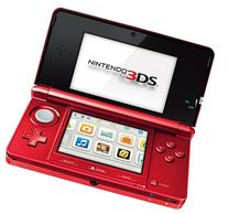 NINTENDO 2200249 CONSOLE 3DS METALLIC RED