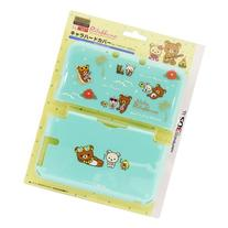 Nintendo Official Kawaii 3DS XL Hard Cover -Rilakkuma Aloha