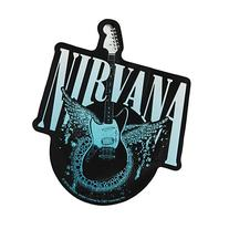 Licenses Products Nirvana Guitar Sticker