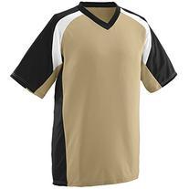 Augusta Sportswear MEN'S NITRO JERSEY S Vegas Gold/Black/